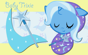 New Born Trixie WP by AliceHumanSacrifice0