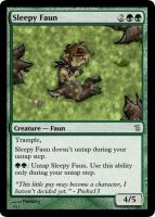 MtG: Sleepy Faun by Overlord-J