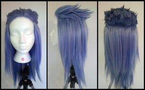 Commission: Saix Kingdom Hearts Wig by Antiquity-Dreams