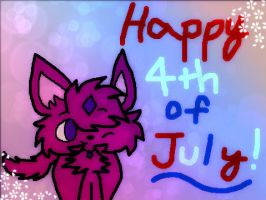 Happy 4th Of July by DalmationCat