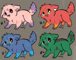 Puppy Adopts! [Batch No.1] by prussianwolf13