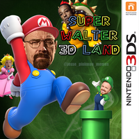 Super Walter 3D Land by JessePinkmanMemes