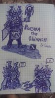 Pugna The Master of Oblivion (From Dota 2) by EngieTheCat