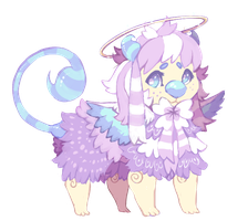Pastel Angel theme Scorplin Auction by dexikon