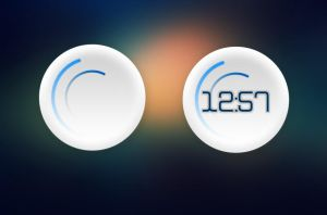 RotoClock for xwidget by Jimking