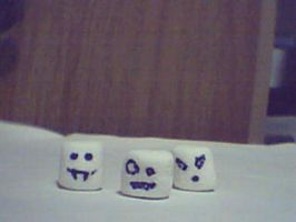 Evil Marshmallows of Doom by Mikey2Ragged