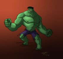 Hulk Color by Waltdog