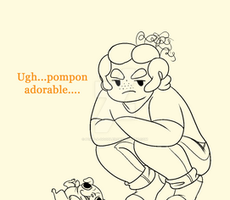 Pompon Pugkin by MissPomp