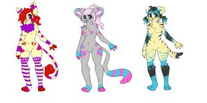$1 Adoptables! OPEN by LaurenPuff