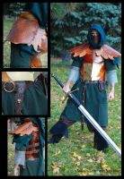 Autumn Elven Armour by ArtisansdAzure