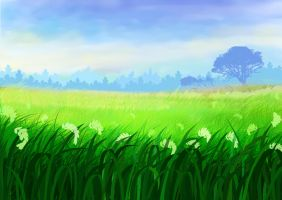 Study drawing landscape by aollynk