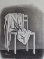 Draped  Chair by JohnCReis