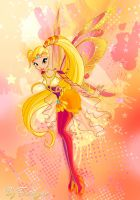 Winx club 6 season Stella Bloomix by fantazyme