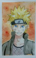 Naruto: Warm Color Study by DragFairy
