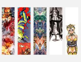 Bookmark Collage 2 by KingNot