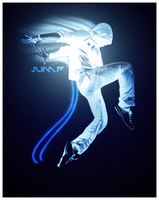 Jump - Photo Manip by murr3