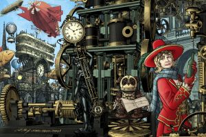 A Clockwork Iris by PaulHanley