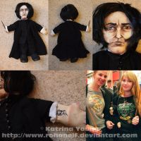 Snape Doll by RohanElf