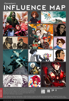 Influence Map 2012 by D-Dragons