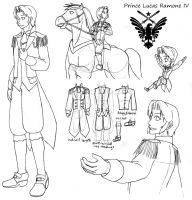 OC-Prince Lucas Ramone IV (19y) reference by Nintendraw