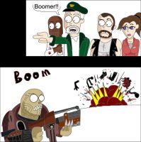 L4D - Boomer by alienhominid2000
