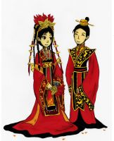 Imperial Wedding by sweet-suzume