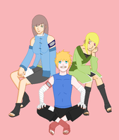 The Whole Team by RaindropLily