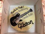 Gibson Guitar cake by zoro-swordsman