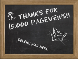 Thanks for 15000 pagevews by selene713