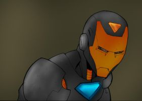 Stealth Iron man avatar by commanderlewis