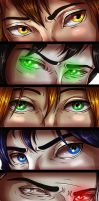 Eyes are the Windows by LivingAliveCreator