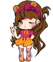 Kiriban Caught!: ChibiArtFreak by Kappinochi