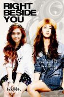 yuri and jessica poster by SNSDartwork