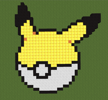 Pikachu Pokeball by 01MinecraftFan