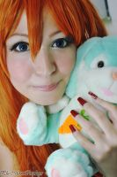 Asuka Bunny Close-Up by plu-moon