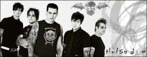 Avenged Sevenfold signature by Thulsa