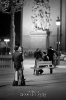 Love In The Champs-Elysees by OmarAziz