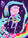 Time hole unicorn by kuri