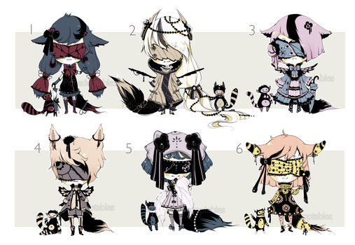 [CLOSED] ADOPT AUCTION 52 - Blind Lace by Piffi-adoptables