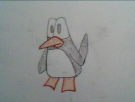 My Penguin by Astridhofferman
