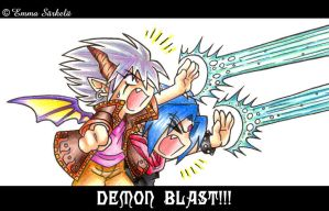 Kujiiko_Shinja - Demon blast by ZombiDJ