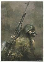 Metro 2033 Stationary Gun by Crystler