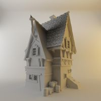 3D House by Tavernier666