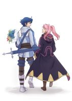 Inigo and avatar for  xAnimefangirl by tea-and-dreams