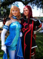 Fanime'13 Asch and Princess Natalia by theEmperorofShadows