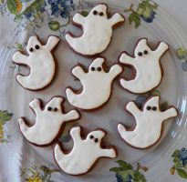 Ghost Cookies by lifextime