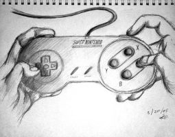 SNES Hands by KilikX