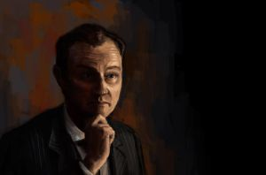 Mycroft Holmes. The Thinker by MrBorsch