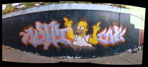 homer by anteiichi