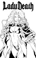Lady Death by WaldenWong